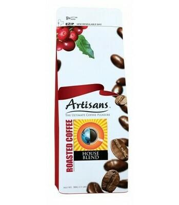 Artisans HOUSE BLEND Coffee 500 grams - GROUND