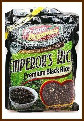 Prime Organics EMPEROR'S BLACK RICE 2kg