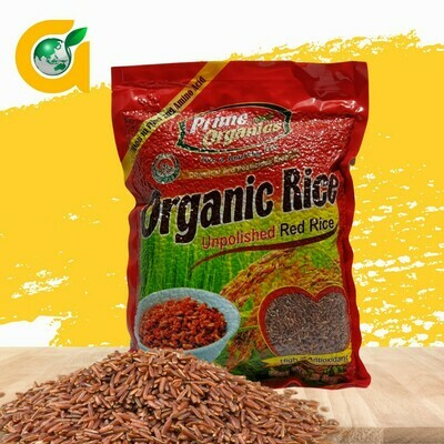 Prime Organics RED RICE 2kg