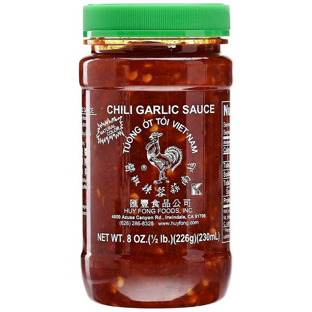 Huy Fong CHILI GARLIC sauce 8oz