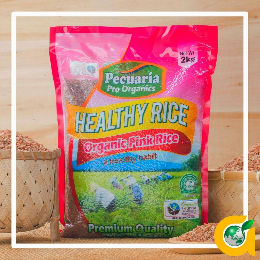 Pecuaria's Healthy PINK RICE 2kg