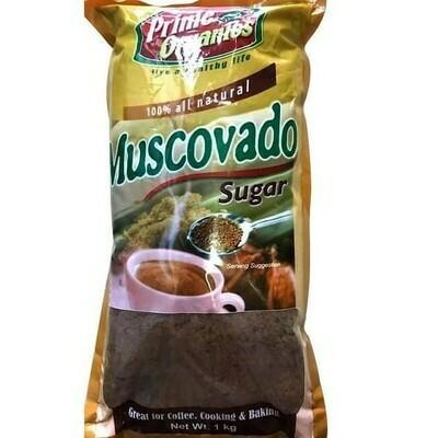 Prime Organics Muscovado Sugar 1 kg
