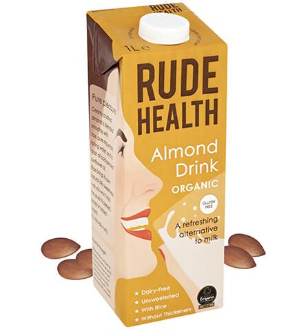 Rude Health Organic ALMOND DRINK Milk 1L