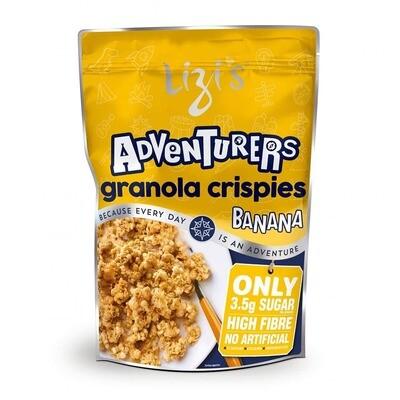 Lizi's Granola Adventurers Banana Cereal 400g