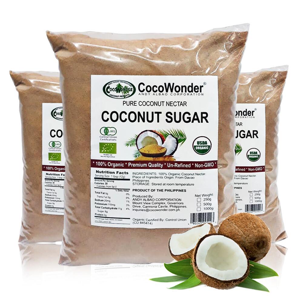 COCONUT NECTAR SUGAR 500 grams