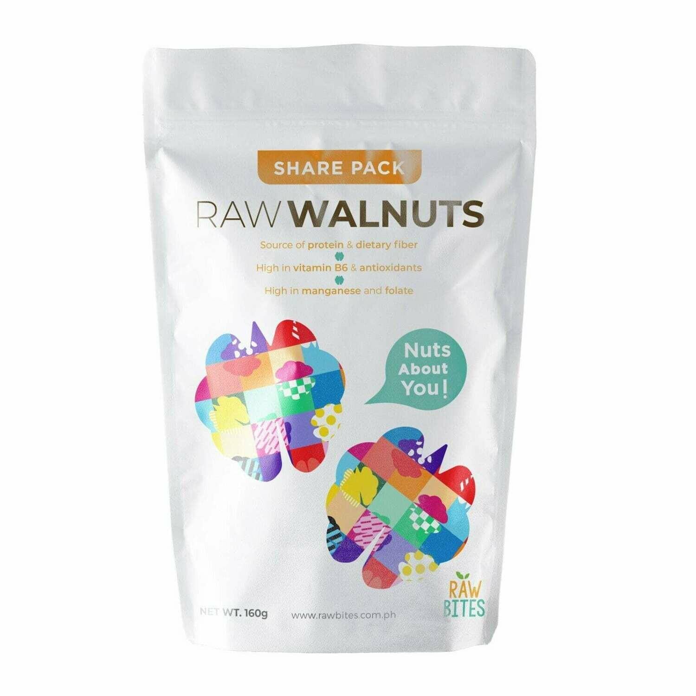 Raw Bites Raw Walnuts 160g