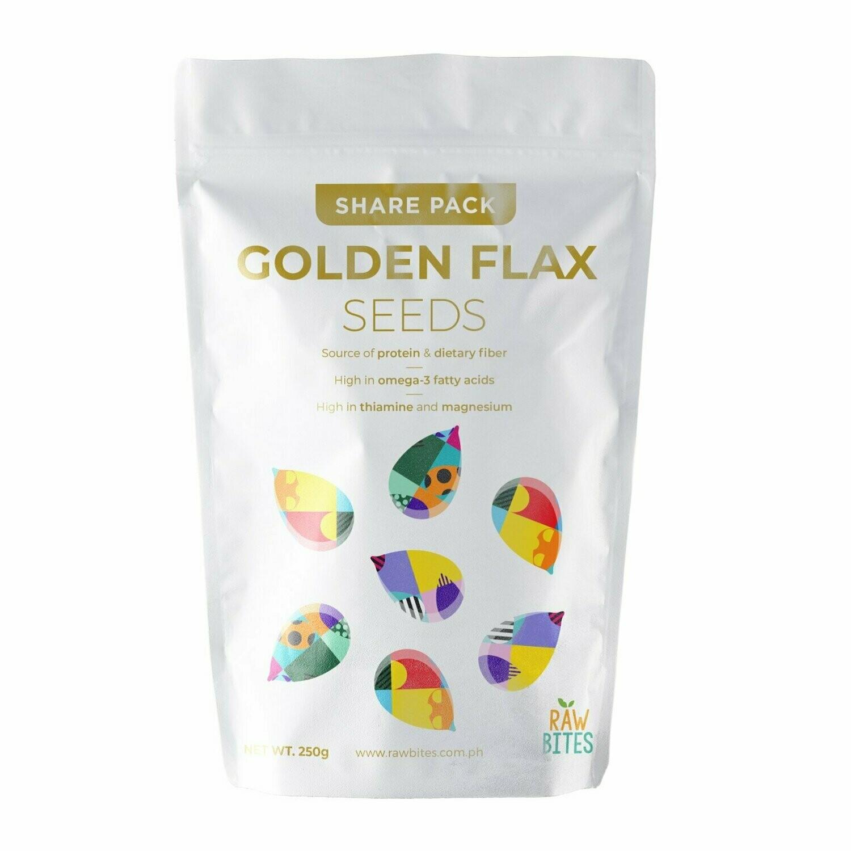 Raw Bites Golden Flax Seeds 250g