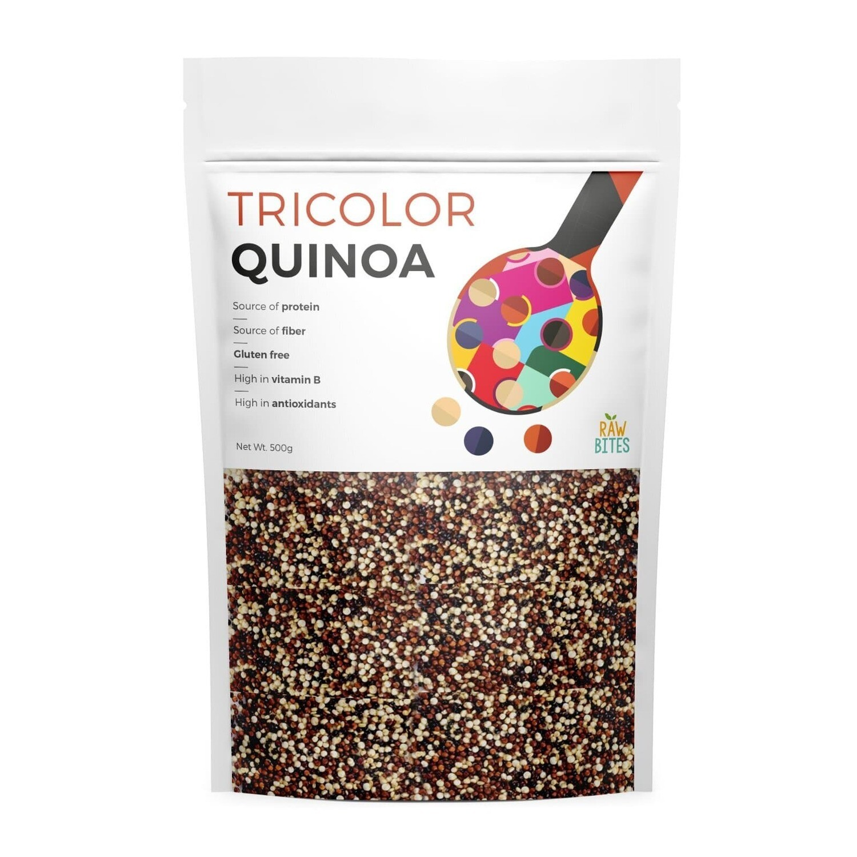 Raw Bites Tri Color Quinoa 500g