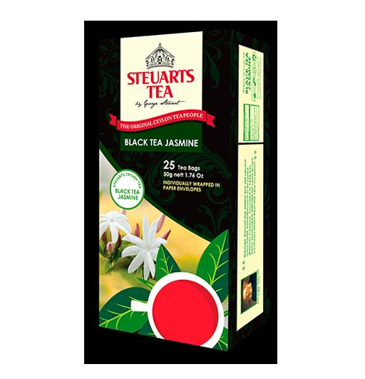 Steuarts Black Tea w/ JASMINE 25 tea bags