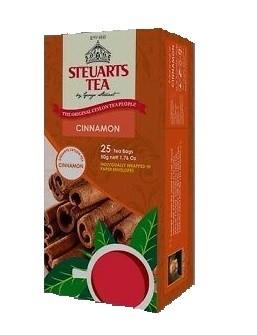 Steuarts CINNAMON 25 tea bags
