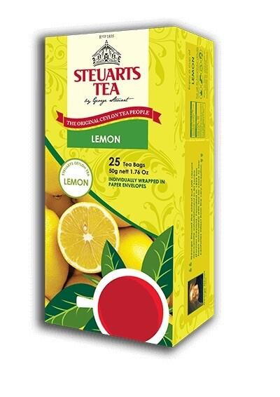 Steuarts LEMON 25 tea bags
