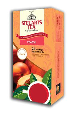 Steuarts PEACH 25 tea bags