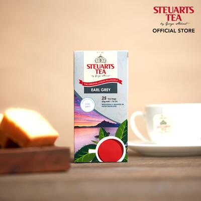 Steuarts EARL GREY 25 tea bags