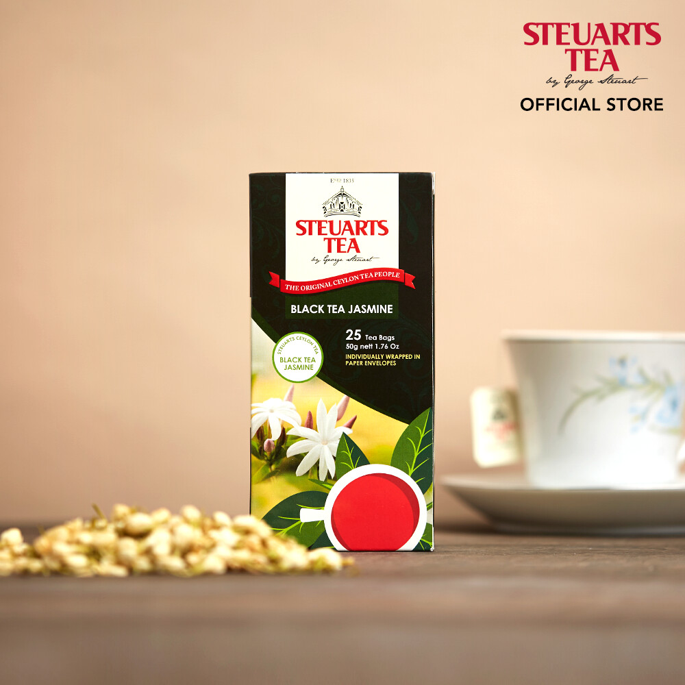 Steuarts PREMIUM Ceylon Black Tea 25 tea bags