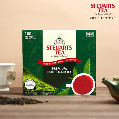 Steuarts PREMIUM Ceylon Black Tea 100 tea bags