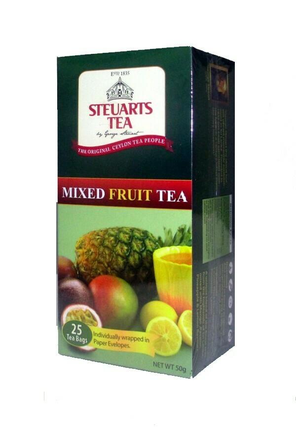 Steuarts MIXED FRUITS 25 tea bags