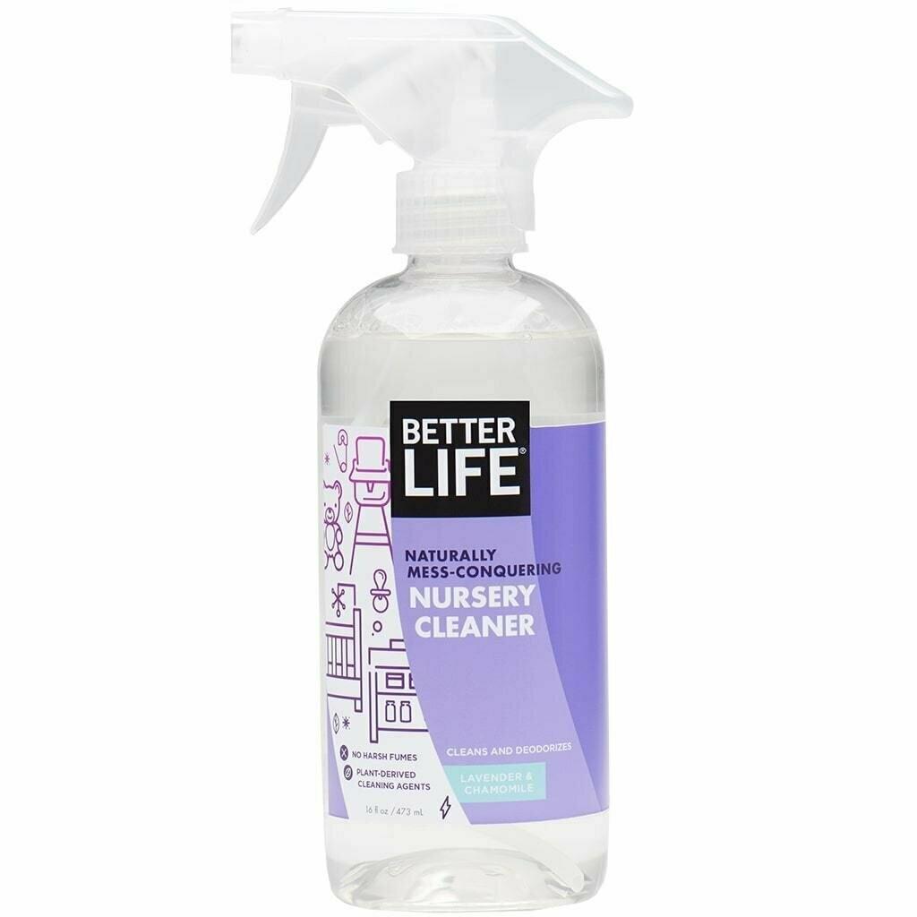 Better Life Nursery Cleaner, Lavender & Chamomile, 16oz/ 473ml