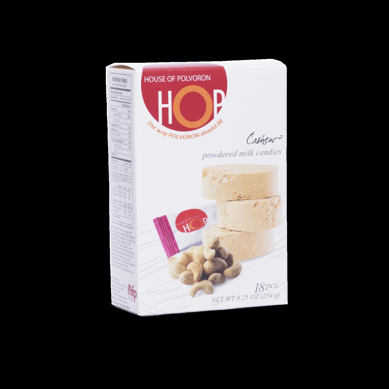 HOP Cashew Polvoron 234 grams – 18 pcs