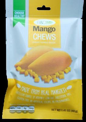B&C Healthy Snack Mango Chews 40g
