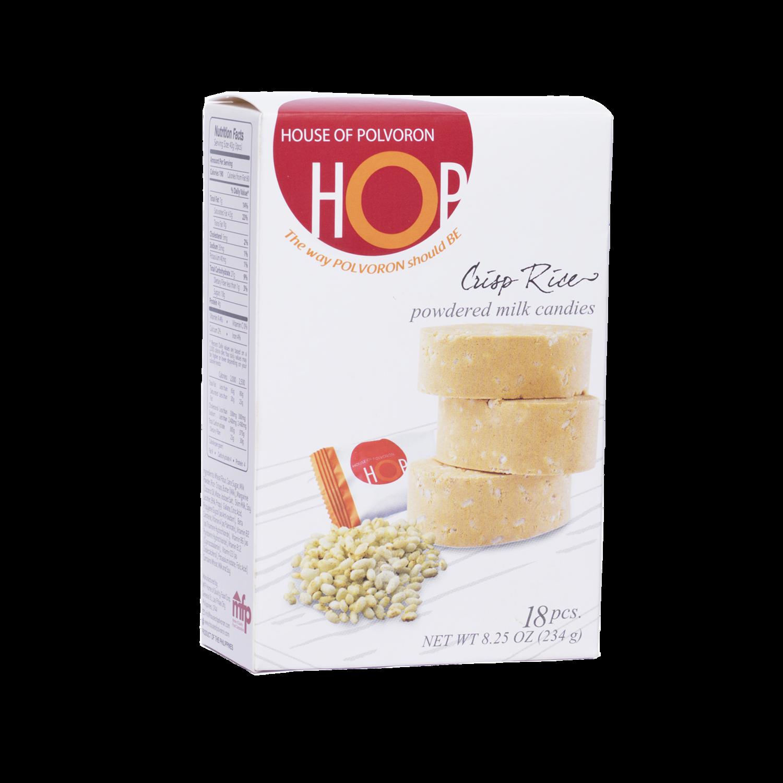 HOP Crisped Rice Polvoron Box – 18pcs – 234gr