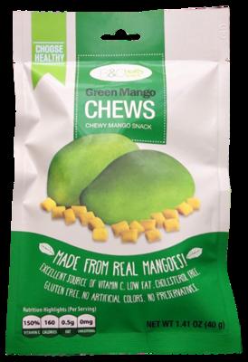 B&C Healthy Snack Green Mango Chews 40g