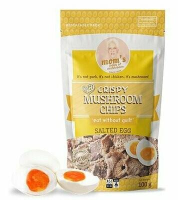 Mom's MUSHROOM CHIPS SALTED EGG 100 grams