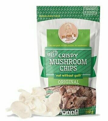 Mom's MUSHROOM CHIPS ORIGINAL 100 grams