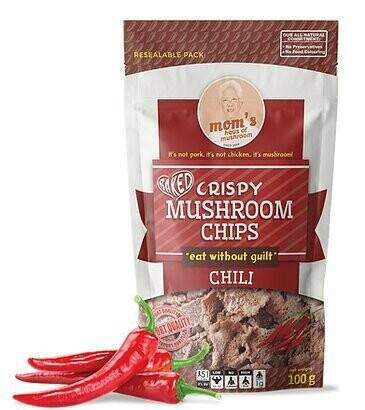 Mom's MUSHROOM CHIPS CHILI 100 grams