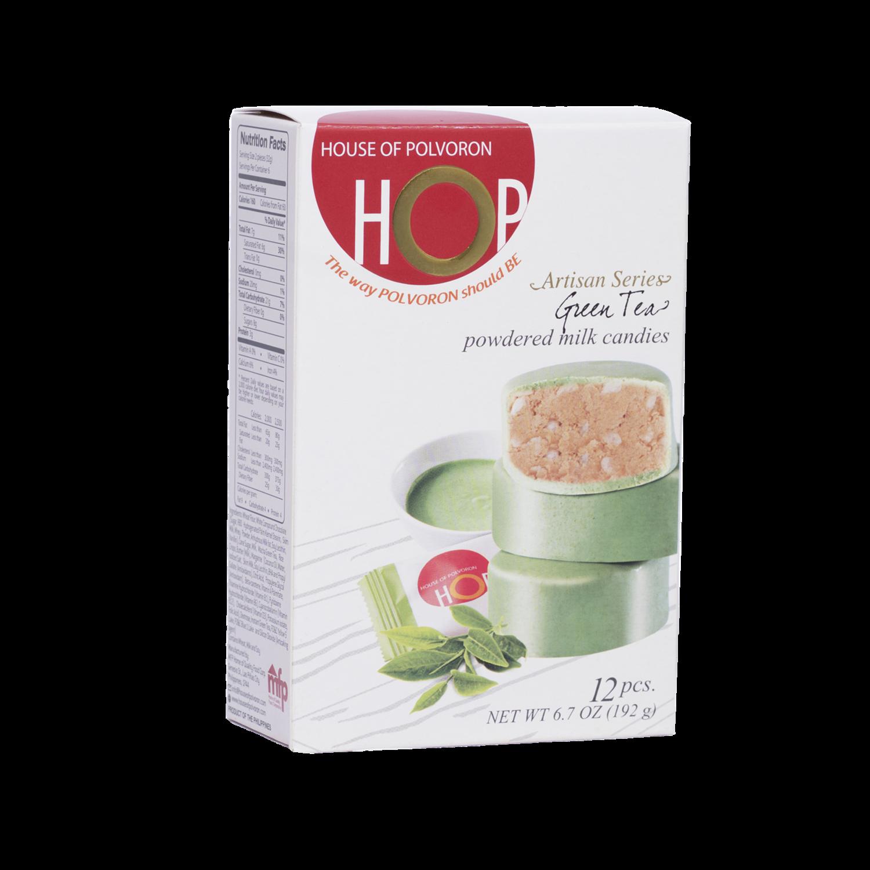 HOP Green Tea Box Polvoron – 12pcs – 192gr