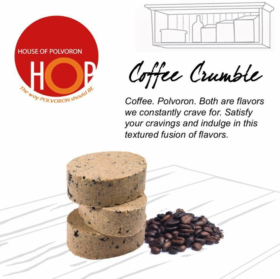 HOP Coffee Crumble Polvoron – 18pcs – 234gr