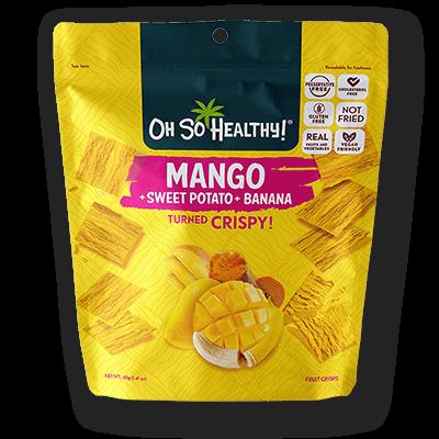 Oh So Healthy MANGO, SWEET POTATO, BANANA 40 grams (Vegan)