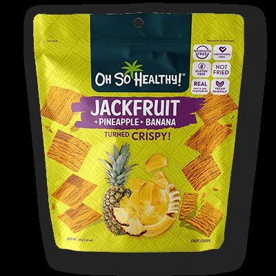 Oh So Healthy JACKFRUIT, PINEAPPLE, BANANA 40 grams (Vegan)