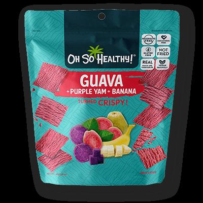 Oh So Healthy GUAVA, PURPLE YAM, BANANA 40 grams (Vegan)