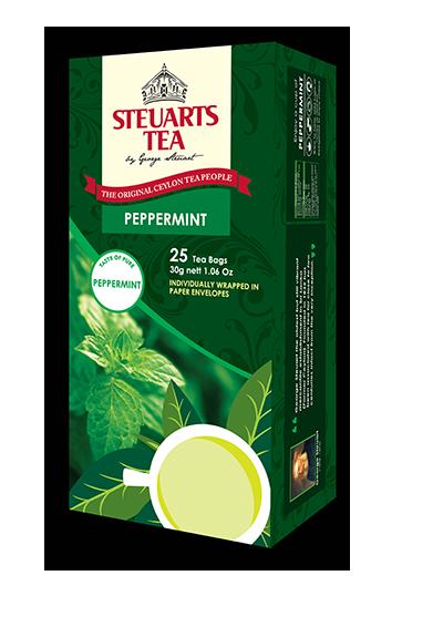 Steuarts PEPPERMINT 25 tea bags