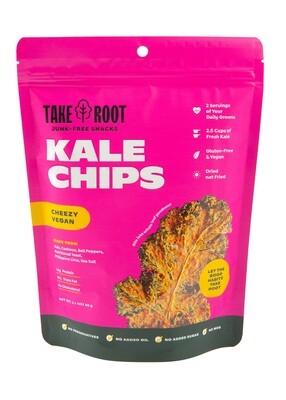 Take Root CHEEZY VEGAN Kale Chips 35 grams