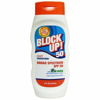 FOTE BLOCK UP! 50 Sport Sunscreen Broad Spectrum SPF 50 237 ml
