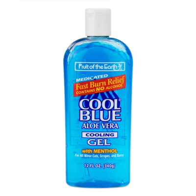 FOTE COOL BLUE Cooling Gel with menthol (After Sun) 340 grams