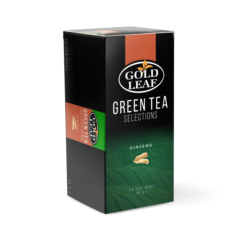 Gold Leaf GINSENG Tea 24's