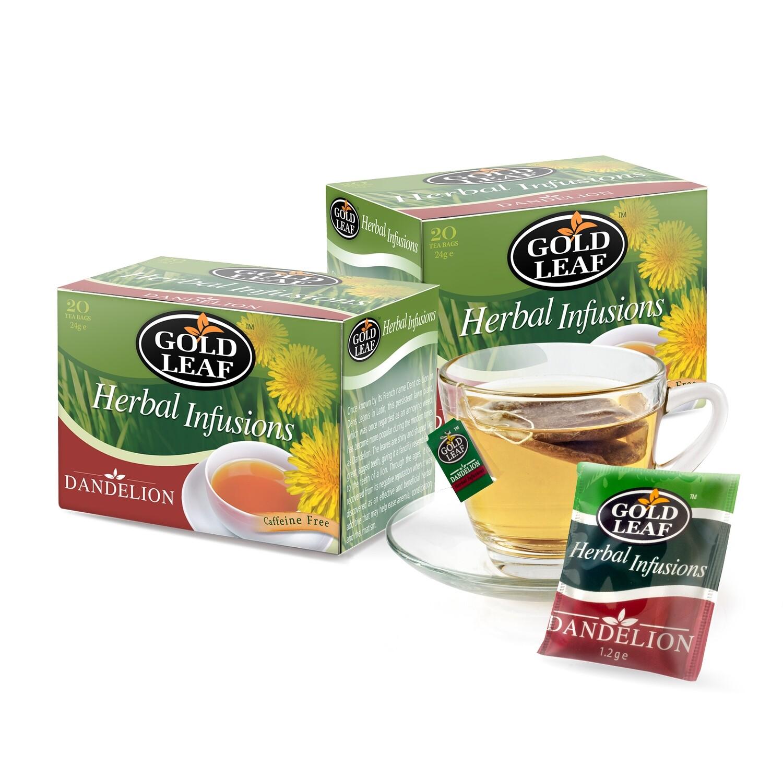 Gold Leaf DANDELION Tea 20's