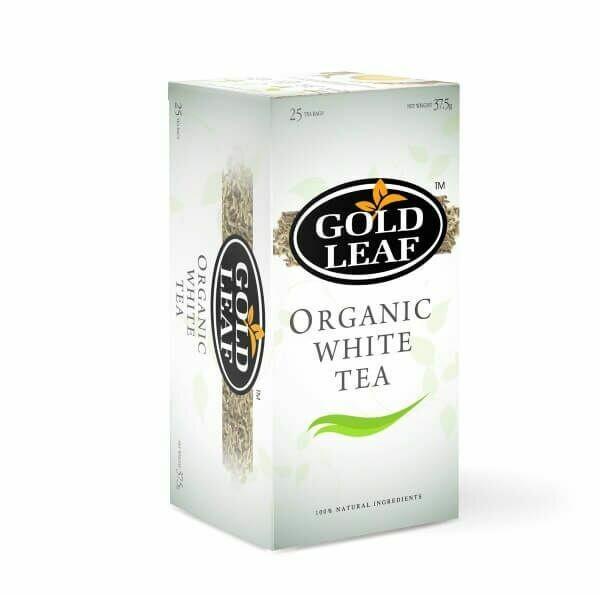 Gold Leaf ORGANIC WHITE TEA 25's