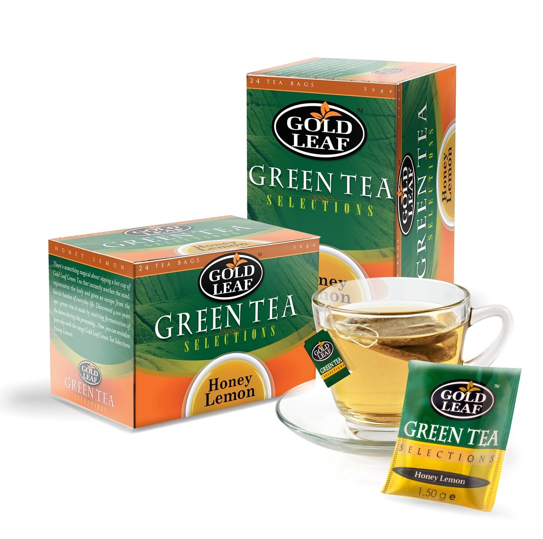 Gold Leaf HONEY LEMON Tea 24's