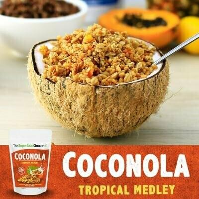 Coconola Vegan Granola Clusters Tropical Medley 200 grams