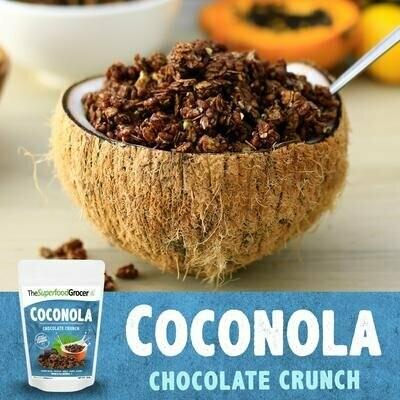 Coconola Vegan Granola Clusters Chocolate Crunch 200 grams