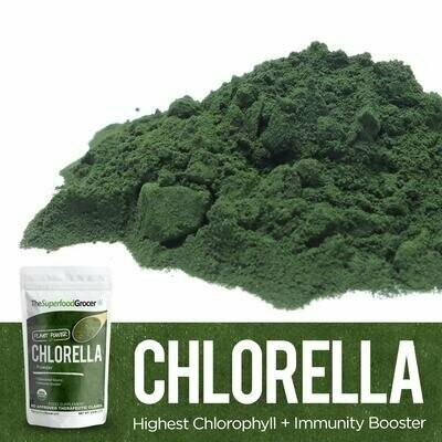 Organic Chlorella 1/2 lb