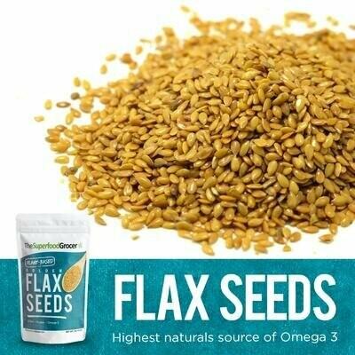 Golden Flax Seeds 1 lb
