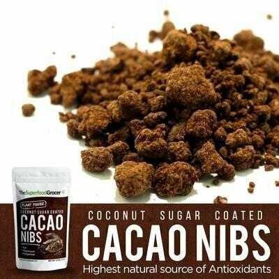Organic Cacao Nibs 1/2 lbs