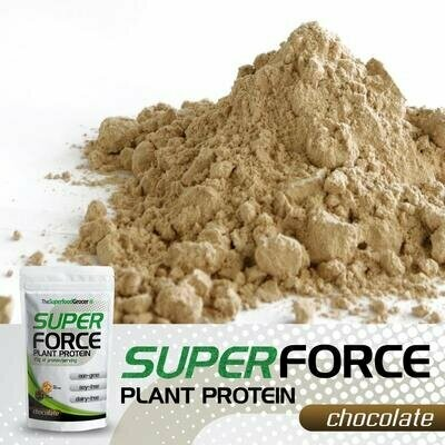 SUPER FORCE Plant Protein (Chocolate) 1 1/2 lb
