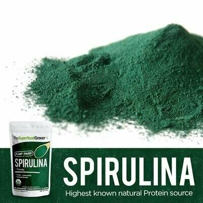 Organic Spirulina 100 grams