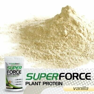 SUPERFORCE Plant Protein (Vanilla) 1 1/2 lb