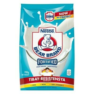 Nestle BEAR BRAND Fortified Powered Milk 700g